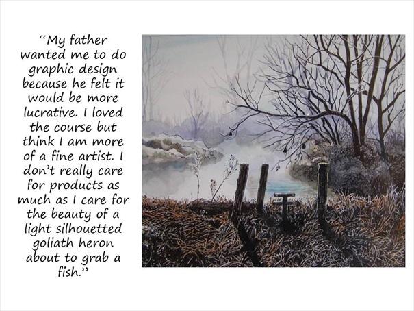 fine artist heron sml