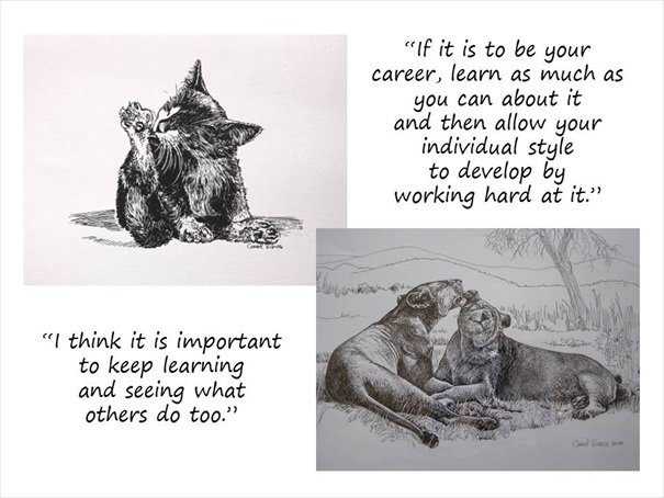 Celebrating Carrol Learning Sketches