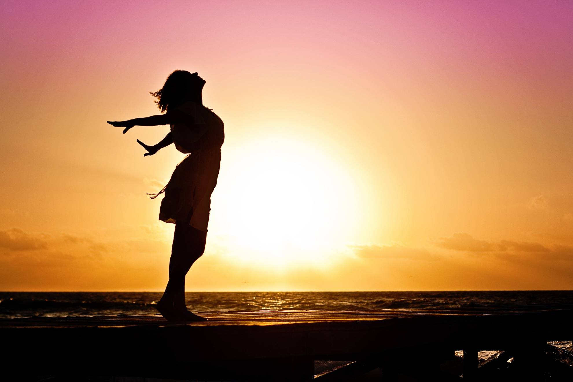 woman-sunset-silhouette
