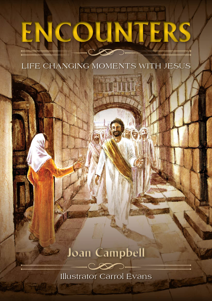 Encounters Book by Joan Campbell