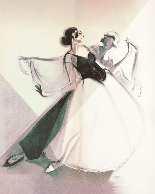 dancers sketch