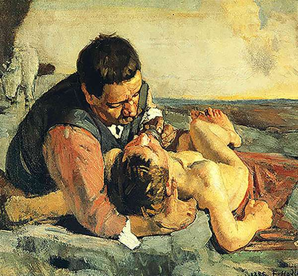 ferdinand hodler the good samaritan